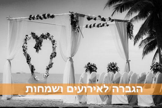 הגברה לחתונה, לאירועים ושמחות - השכרת מערכת הגברה